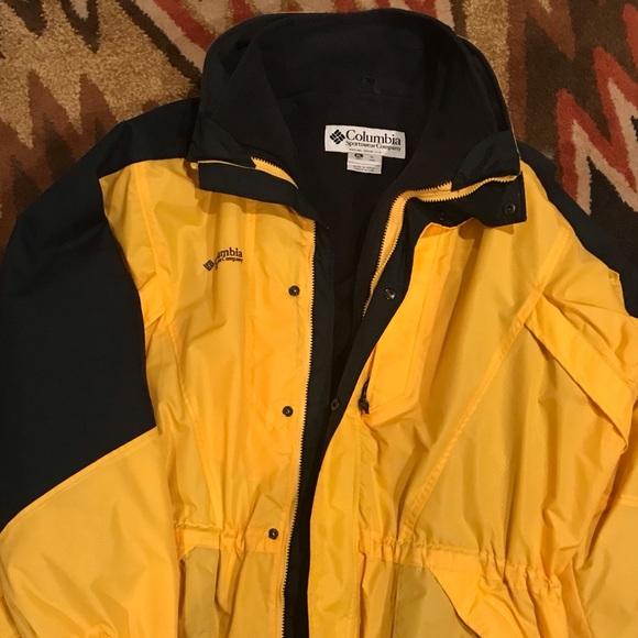 Columbia Double Whammy Yellow Coat XL